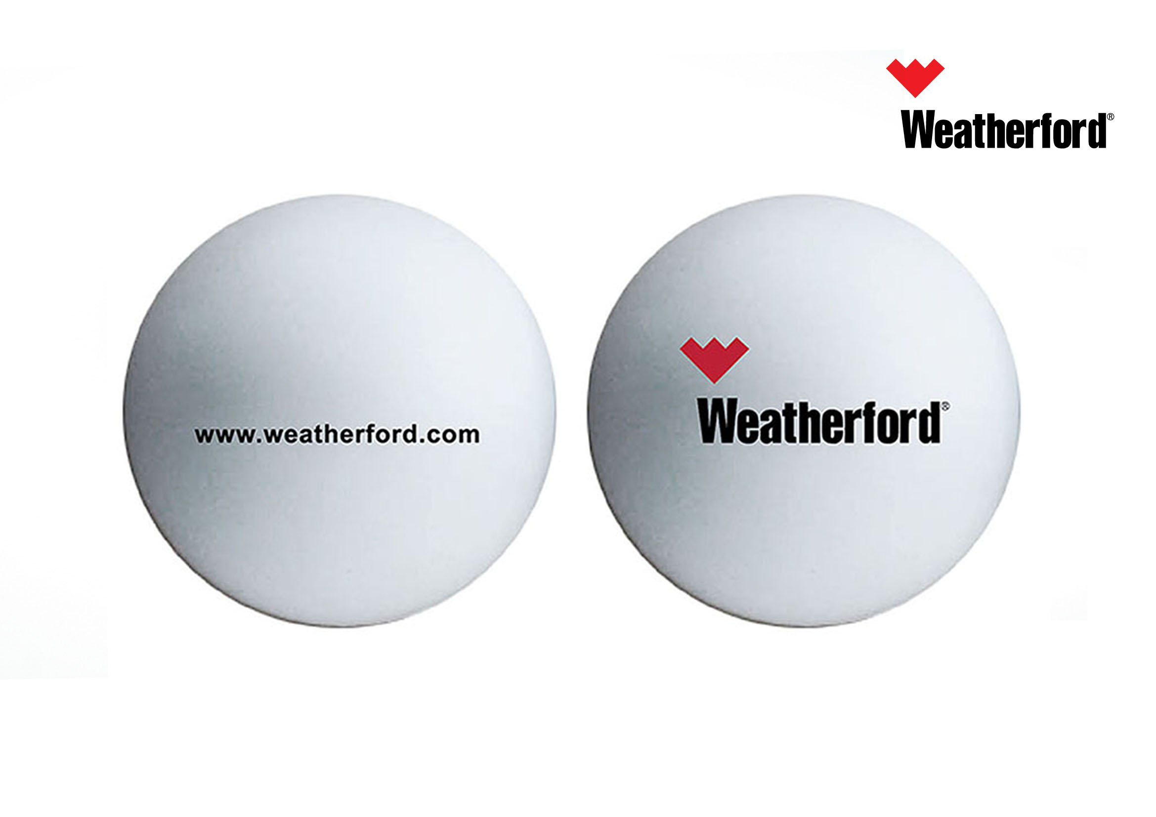 - Stress Ball -white Color - WeatherFord